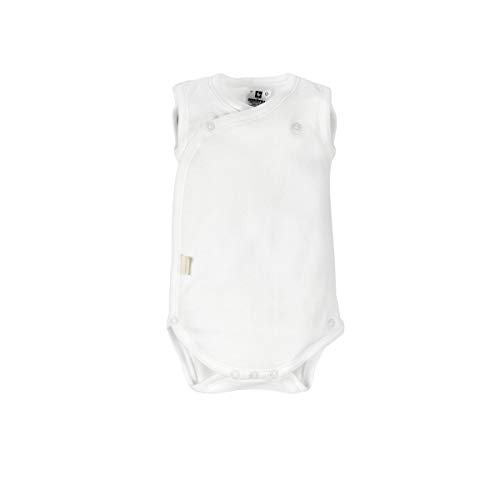 Cambrass 9748 - Body deportivo para recién nacidos, talla 52 cm, color blanco