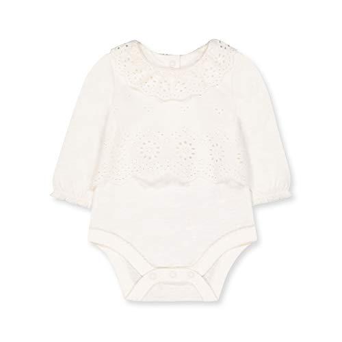 Mothercare NB PF Mock Blouse Bodysuit Body, (White 61), 9-12 Months (Size:80) para Bebés