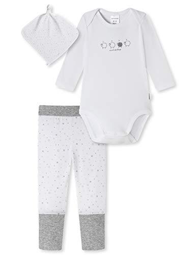 Schiesser Geschenkset zur Geburt Babies Hose Body Mützchen Conjunto de Ropa Interior para bebés y...