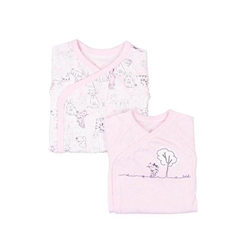 Boboli Best Buddies - Body para niña (2 unidades) Rosa. 2 mes