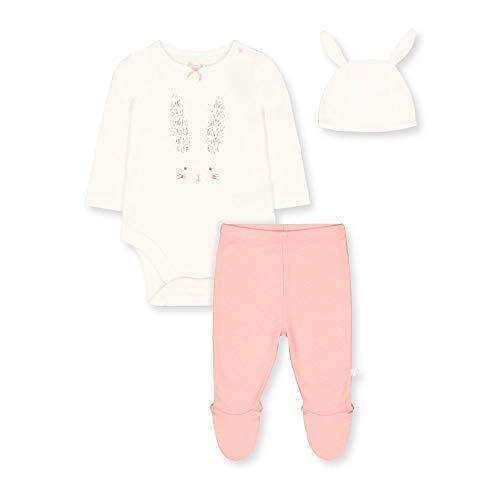 Mothercare Io G Bunny Novelty 3pc Set Body, (Multi 1), 24-36 Months (Size:98) para Bebés