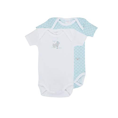 Absorba Body Bebe Azul Medio Ropa interior para bebé niño Bleu Moyen 3 Meses