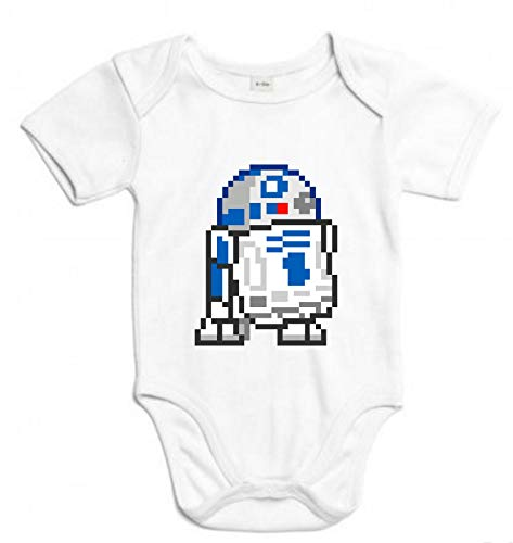 Body de NIÑOS Star Wars R2D2 Luck Han Dark Vader 3Meses