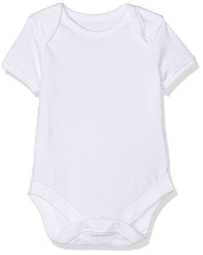 Mothercare 7 Pack Body, Blanco (White 61), 3-6 Meses Unisex bebé