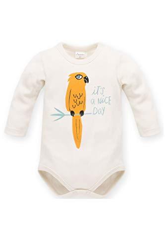 Body para bebé de manga larga con loro amarillo curry de algodón, body de manga larga, diseño...