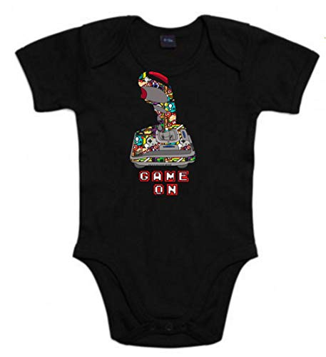 The Fan Tee Body de NIÑOS Gamer Retro PS NES Juegos Videojuegos Invaders 6Meses