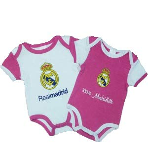 Pack 2 Body Real Madrid Niña (18 Meses)