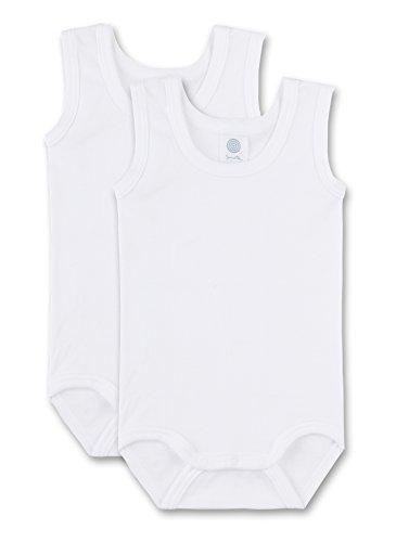 Sanetta - Body para bebé, Color Blanco 010, Talla 18 Meses (86)