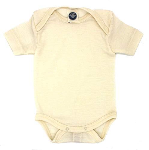 Cosilana - Body - Rayas - para bebé niño Beige Naturaleza