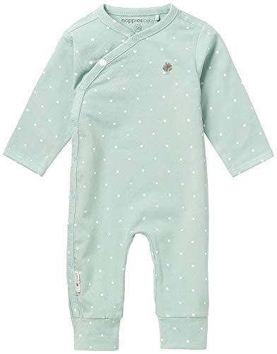 Noppies U Playsuit jrsy Lou AOP-67345 Body, Gris (Grey Mint C175), 2 Mes Unisex bebé