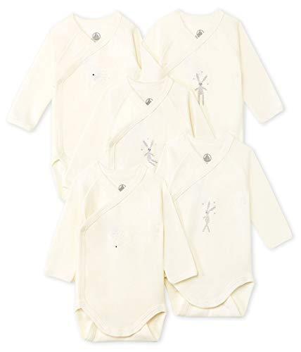 Petit Bateau 5425500 Conjunto de ropa interior para bebés y niños pequeños, Blanco / Didou1...