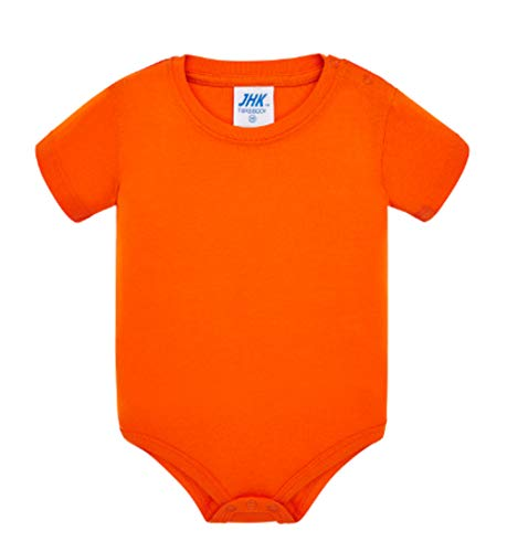Emilio Fernández Body para Bebé (Naranja, 3M)