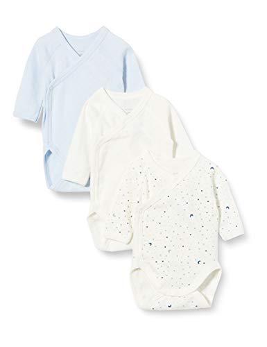 Petit Bateau 5649700 Conjunto de Ropa Interior para bebés y niños pequeños, Azul Blanco/Azul...