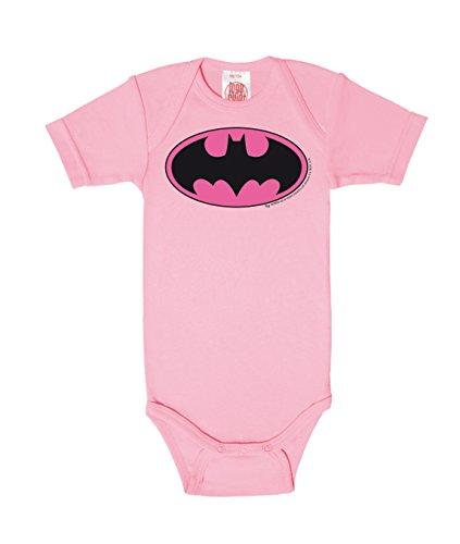 Logoshirt Body para bebé Batman Logotipo Rosa - DC Comics - Batman Logo Pink - Pelele para bebé -...