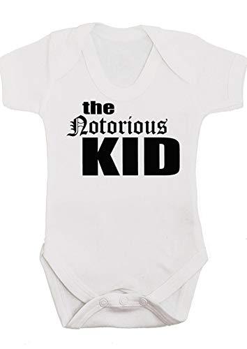 NOTORIOUS - Chaleco de bebé para niños o niñas, chaleco de Hip Hop Rap para bebé/mono neutro...