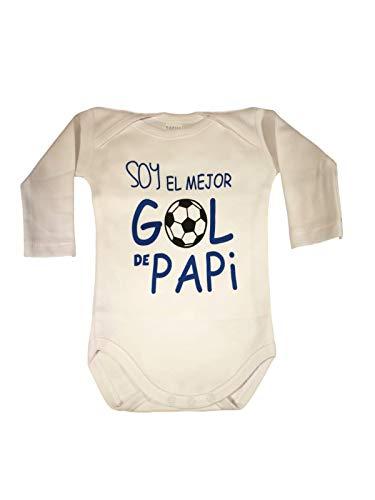 Body Bebe Frase : Soy EL Mejor GOL DE Papi Regalo Bebe Regalo Recien Nacido Regalo Padre (1 Mes)