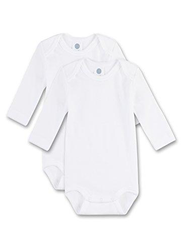 Sanetta - Body para bebé, Color Blanco 010, Talla 9 Meses (74)