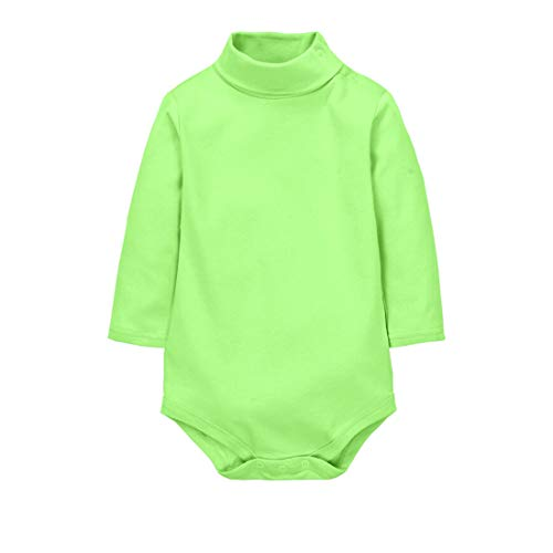 CuteOn Bodies para Bebés Niño Niña Cuello Algodón Bodysuit Bebe - Verde 9 Meses