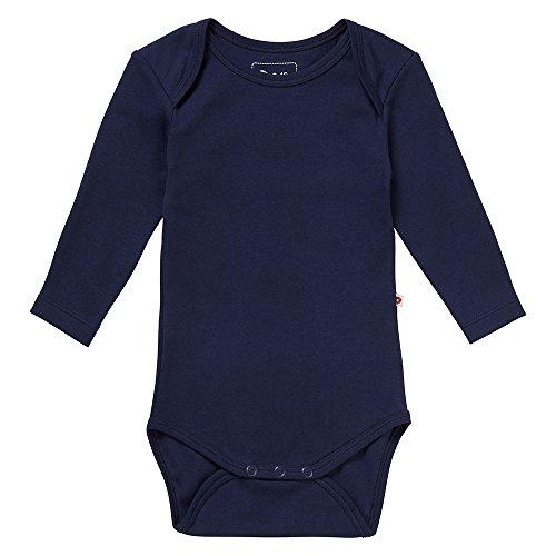 Piccalilly, Mono con Mangas largas, Jersey de algodón orgánico, Unisex, Azul