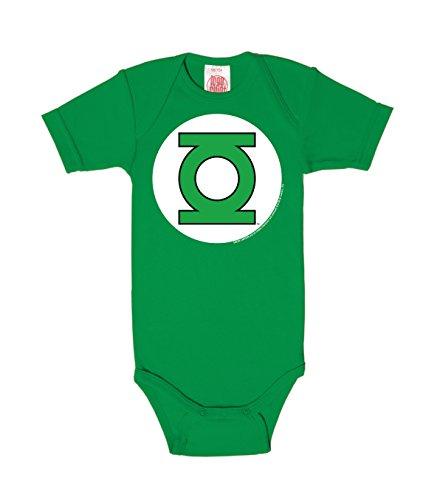 Logoshirt Body para bebé Linterna Verde - Logotipo - DC Comics - Green Lantern - Logo - Pelele para...