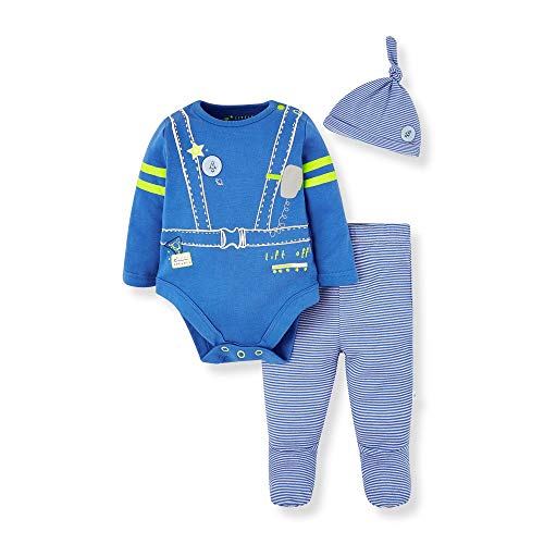 Mothercare Io B L Space Novelty 3pc Set Body, (Bright Blue 478), 12-18 Months (Size:86) para Bebés