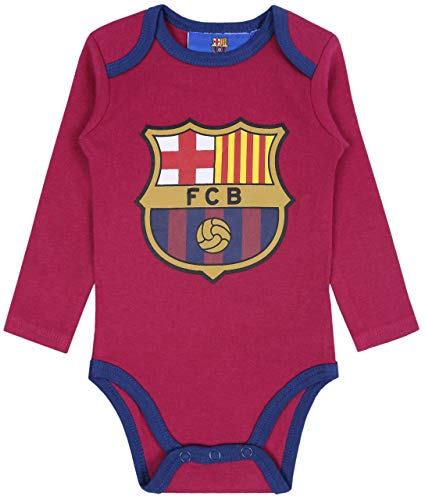 sarcia.eu Body de bebé Burdeos FC Barcelona 24 Meses
