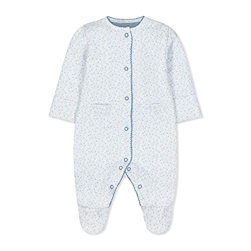 Mothercare G Pretty Wadded WIS Body, (Pale Blue 23), 12-18 Months (Size:86) para Bebés