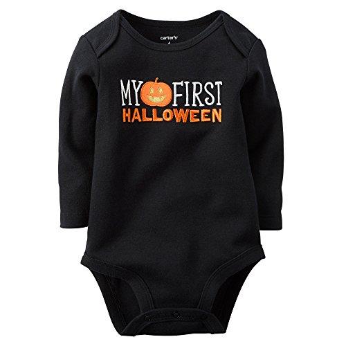 Carter's Body unisex Baby My First Halloween - negro - 24 meses