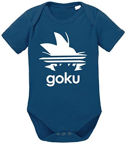 Tee Kiki Adi Goku Body Dragon de algodón orgánico Ball Son Proverbs Baby Romper para niños y...