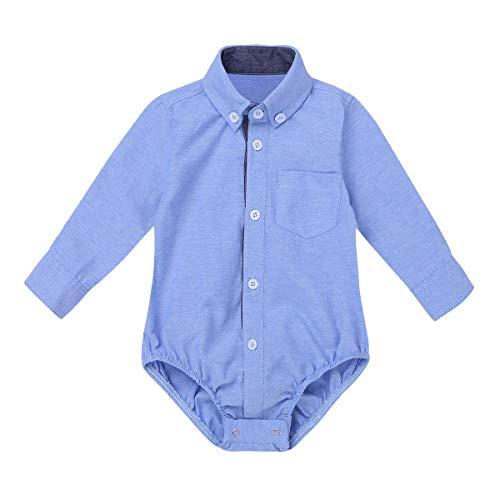 Agoky Ropa para Bebés Niños Camisas Manga Largo 2018 Ropa para Recién Nacidos Bebe Monos Niños...