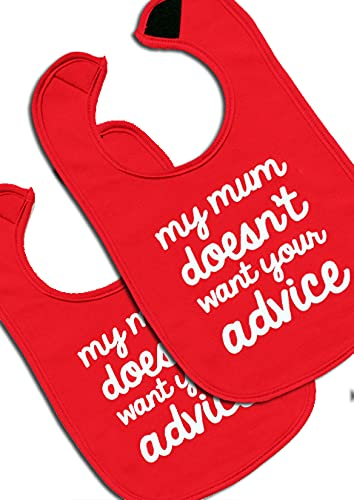 Baby Moo's «My Mum Doesn't Want Your Advice» Divertido body para bebés ® - Divertido body...