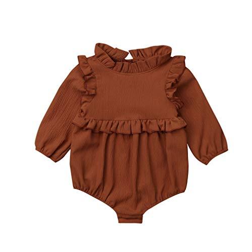 TMEOG Bodies para bebés, Monos para bebés niña, Mameluco Bebe niña pequeña recién Nacido Mono...