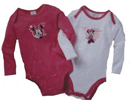 Unbekannt - Body - para bebé niña Rosa/Blanco 74 cm/80 cm