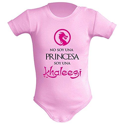 Body bebé unisex No soy una princesa, soy una Khaleesi (Juego de tronos - parodia). Regalo...