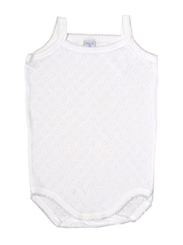 Babidu - Body Tirante Fino Blanco (12 meses)