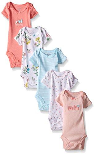 Carter's - Body de bebé con flores para niñas (bebé) - Rosa - 12 meses