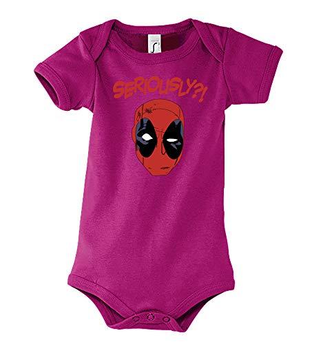 Body de manga corta para bebé y niña, modelo Deadpool, tamaño 3 – 24 meses, en muchos colores...