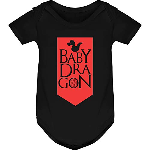 Body Bebé Baby Dragon - Juego de Tronos - Game of Thrones (3 Meses)