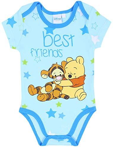 Body de bebé Azul Winnie The Pooh Disney 9 Meses