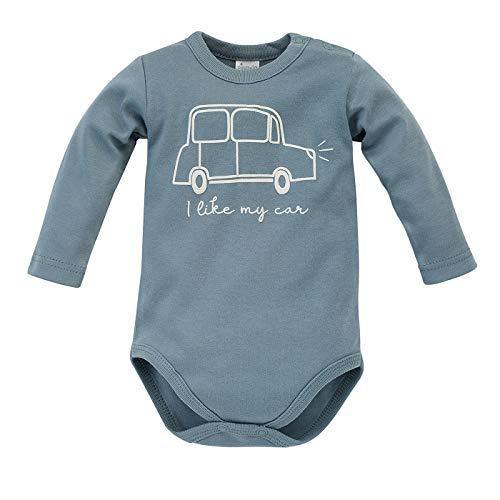 Pinokio - Little Car - Baby Body Cuerpo De Manga Larga 100% Algodón con Botones De Coche para Los...
