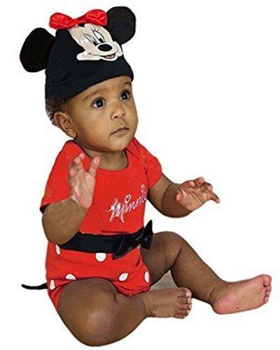 Disfraz oficial de Mickey Mouse para bebés y niños pequeños naranja Tigger Talla:0-3Months