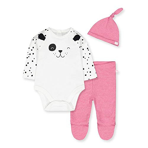 Mothercare Io G Spotty Novelty 3pc Set Body, (Bright Pink 52), 12-18 Months (Size:86) para Bebés