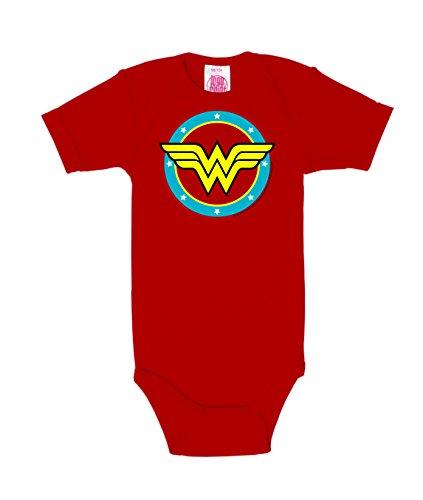 Logoshirt DC Comics - Superhéroe - Wonder Woman - Logo Circulo - Body para bebé - Pelele para...