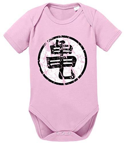 Tee Kiki Sign Body Dragon de algodón orgánico Ball Son Proverbs Baby Romper para niños y niñas...