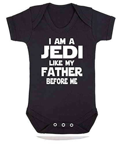 I am Jedi Like My Father Star Wars - Chaleco para bebé (0-3 meses)