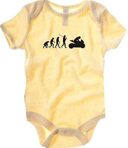 Krokodil - Body - Casual - Cuello redondo - Manga corta - Bebé-Niñas amarillo amarillo
