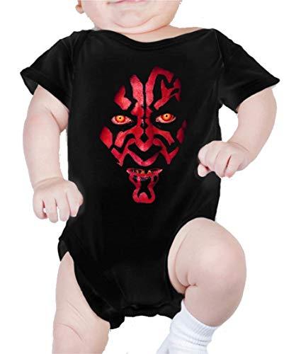 Body de NIÑOS Star Wars Dark Vader Han Solo Fuerza Moul Leia 3Meses