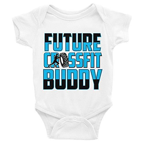 Mono de bebé Promini para bebé – Future Crossfit Buddy – Body para bebé de una sola pieza, el...