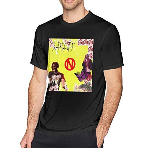 Camisetas y Tops Polos y Camisas, Playboi Carti Cashin Home Camiseta de Manga Corta para Hombre...