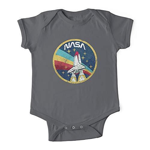 HABAH NASA Vintage Colors V01 - Body para bebé de una pieza